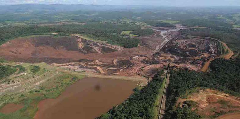Nota do SINGEO-MG sobre a tragédia no rompimento da barragem de Brumadinho
